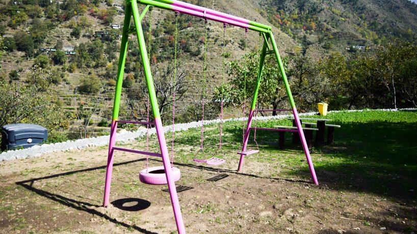 Bishgram-Camping-Pods-Playing-Area