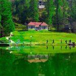 Banjosa lake Azad Kashmir