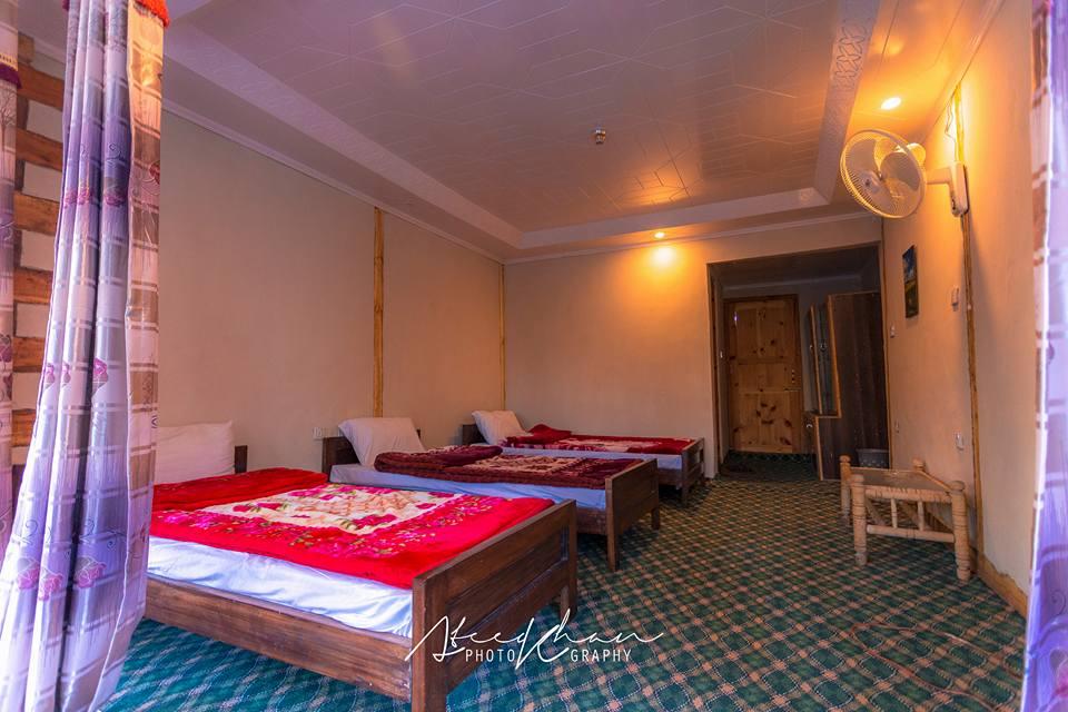 Space Hotel & Eden Huts Shigar Skardu-Triple-Bed-Room