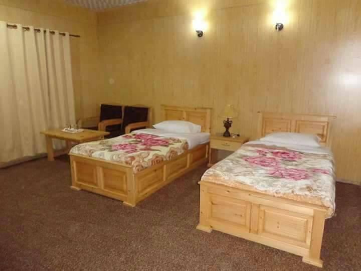 Concordia Motel Skardu-Concordia Motel Skardu-twin-Bed-Room