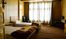 Baltistan Mountain Chalet Skardu-Twin-bed-room