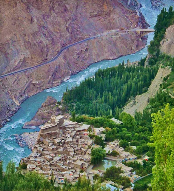 Altit Fort, Hunza Valley, Gilgit-Baltistan. (Photo by Fassi Farooq)