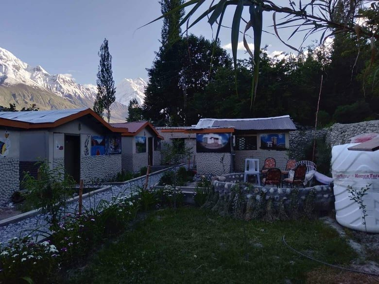 Hunza vintage huts pictures