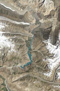 Attaabad lake Hunza 2020