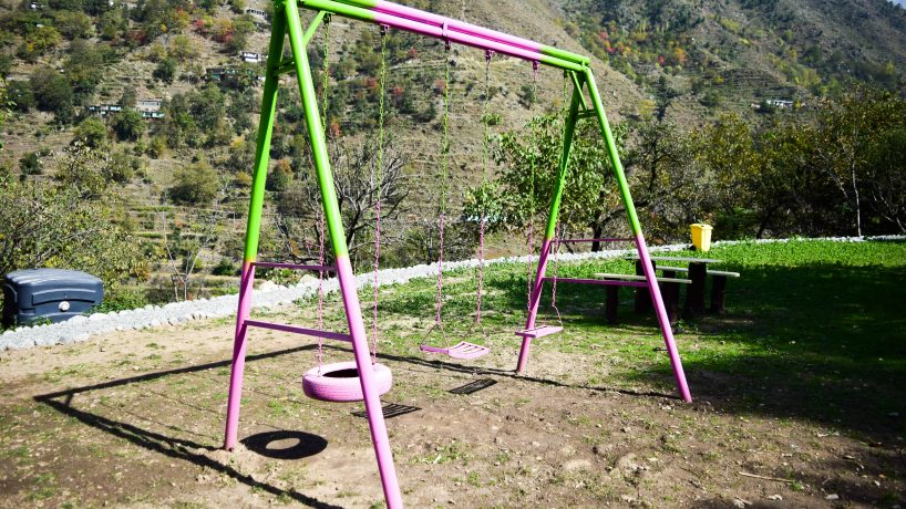 Bishgram-Camping-Pods-Playing-Area