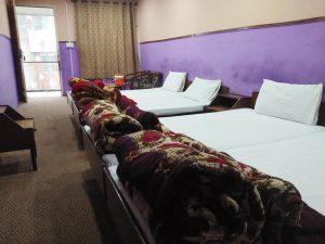 Murree-International-hotel -triple-bed