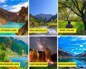 Naran-Hunza-Skardu-Swat-Kalam