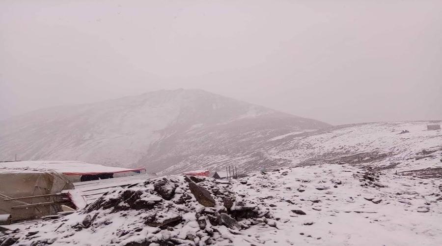 Babusartop-snowfall