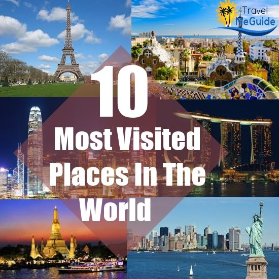 10 Most Visited Tourist Places in the World