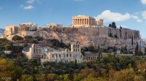 Acropolis of Athens Greece