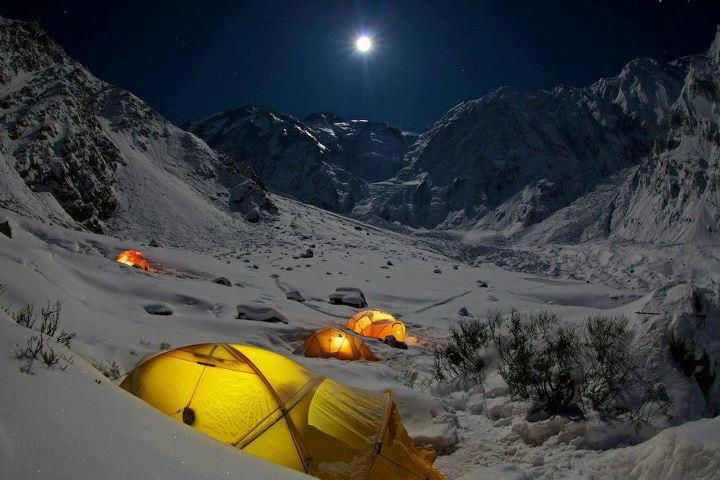 Rupal Base Camp