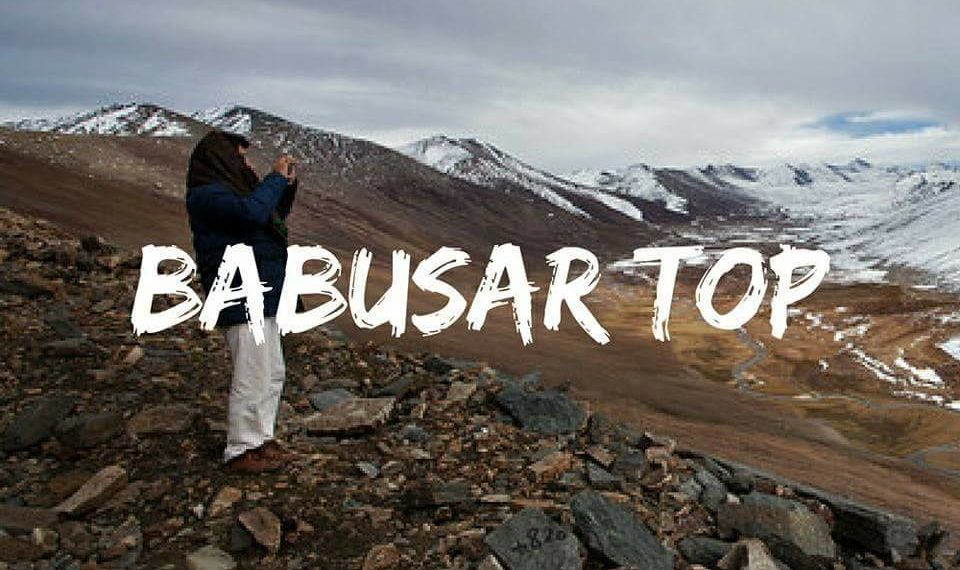 Babusar top Kaghan valley