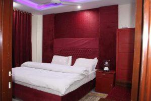 Shelton resort upper dir double bed room