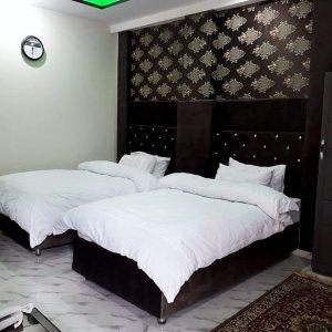 Shelton resort upper dir twin bed room
