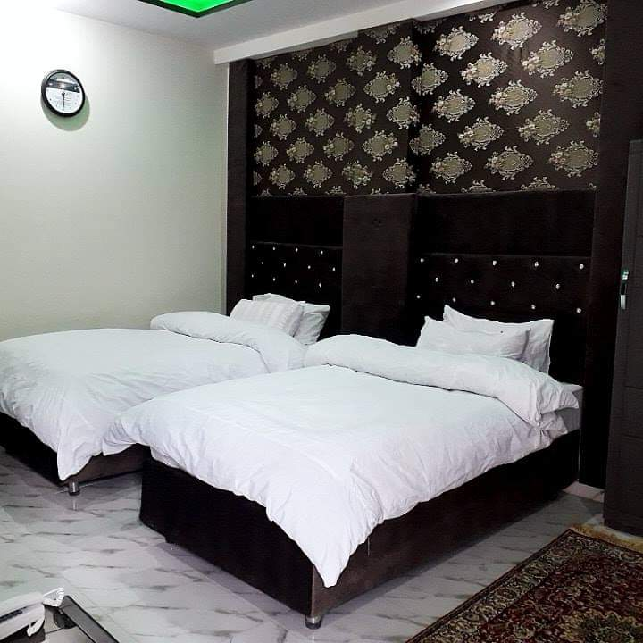 Shelton resort upper dir twin bed room