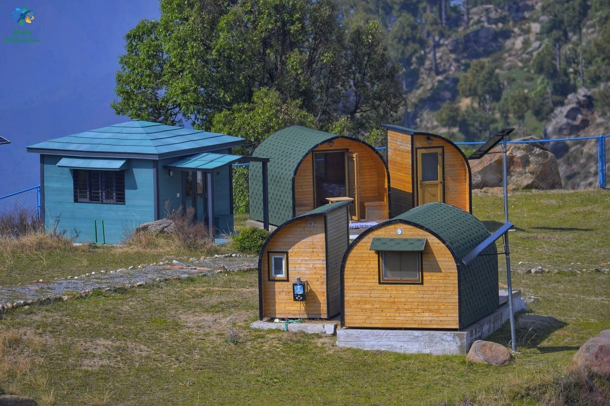 Buner Camping Pods