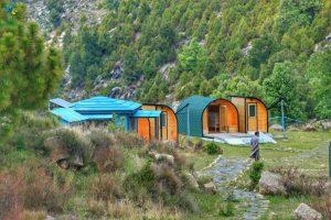 Malka Buner camping pods KPK