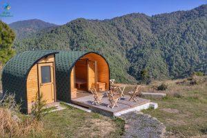 reservation of buner camping pods